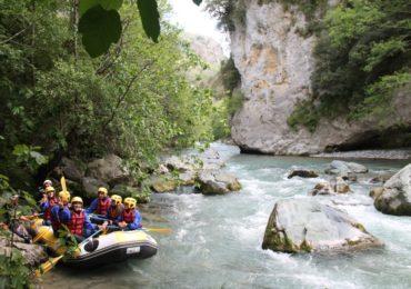 rafting fiume lao le grandi gole