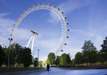 Londra Autunno London eye