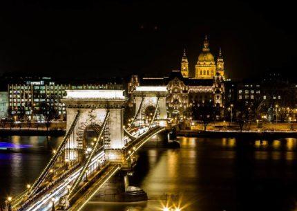 capodanno a Budapest Ponte delle Catene