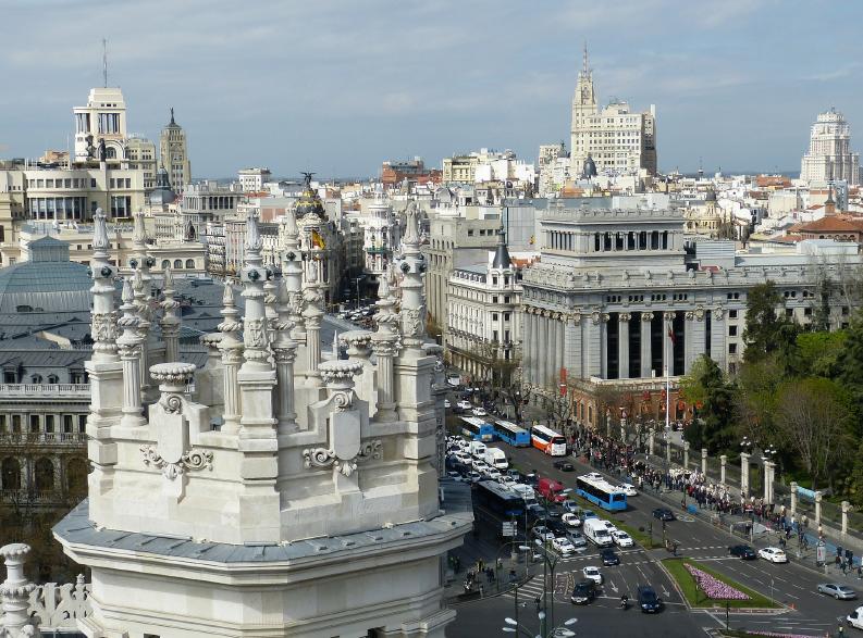 Madrid Gennaio 1