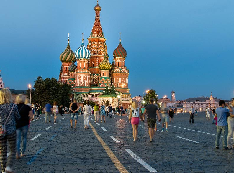 Tour Mosca e San Pietroburgo cattedrale di san basilio