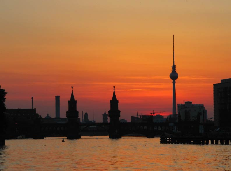 Berlino Weekend torre della televisione