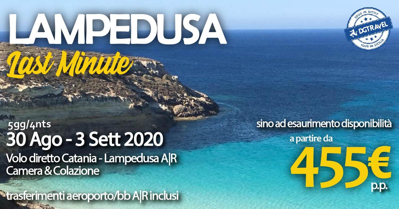 Lampedusa last minute: prenota 5 giorni di relax con DGTRAVEL