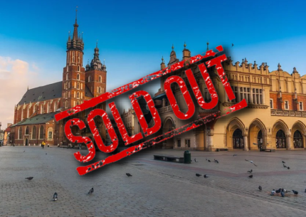 tour cracovia 2021 sold out